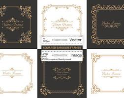 Baroque Wedding Invitations Baroque Invitation Etsy