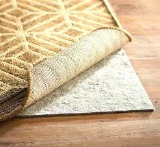 rug non slip non skid rug mat awesome basics non slip rug pad charming non skid