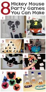 8 mickey mouse party