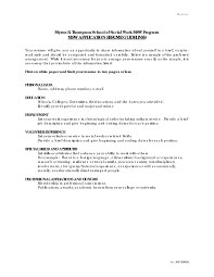 Social Work Resume Skills Resume Template Youth Worker RESUME 72