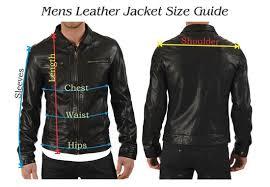 Leather Jacket Size Chart Mens Dress Italian Leather Jacket Louise V