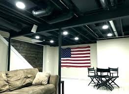unfinished basement ceiling paint. Interesting Basement Basement Ceiling Painted White Articles With Painting  Joists Tag Unfinished  In Unfinished Basement Ceiling Paint M