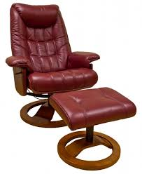 furniture mayfair real leather swivel recliner chair stool in intended for chairs prepare 0