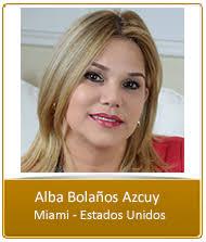 Alba Bolaños Azcuy – Premio Orgullo Peruano