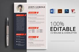 creative design resumes template cool cv templates well designed resume examples