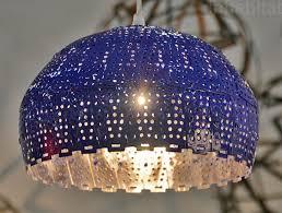 colander light shades nadia belalia lamps recycled colander design recycled design new