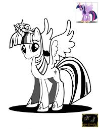 Small Picture Download Coloring Pages Twilight Sparkle Coloring Page My Little