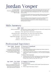 Example Resume For Waitress - Sradd.me