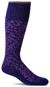Women S Phd Graduated Compression Ultra Light Socks Sockwell Damask Womens Moderate Compression Socks 15 20