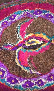 tasmania the happy s have been posting some interesting latch hooked rugs on their facebook page the group has a new meeting place art as mania on