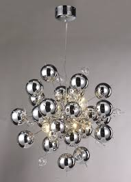 most recent modern chrome chandeliers for chrome ball sputnik chandelier be fabulous gallery