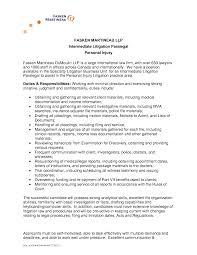 Sample Cover Letter For Paralegal Resume Paralegal Resume Samples TGAM COVER LETTER 22