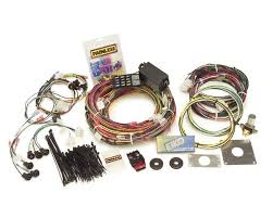 20120 14 circuit mustang chassis harness 1965 1966 go painless wiring harness copper wiring