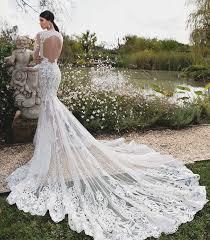 30 beautiful wedding dresses with impressive trains praise wedding