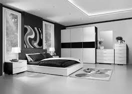 Modern Chair For Bedroom Bedroom Modern Master Design Idea With White Bed Brown Frame Black