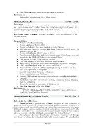 Spotfire Developer Sample Resume