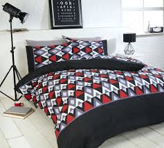 full size of red and black duvet covers picture 6 of 28 red and white check
