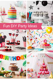 Diy Party Printables Fun Diy Party Ideas Unicorn Star Wars Dinosaur More