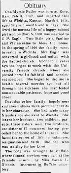 Obituary for Ona Myrtle Fuller, 1882-1914 - Newspapers.com