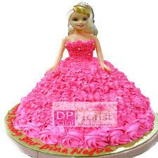 3 Kg Barbie Girl Chocolate Cake Dpsainiflorist