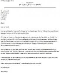 cover letter for a purchase ledger clerk icoverorguk purchaser cover letter