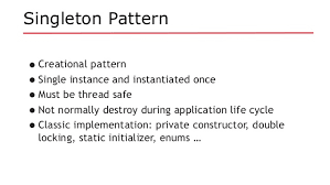 Singleton Design Pattern In Java Best Java EE Revisits Design Patterns