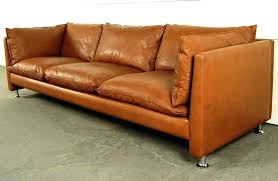 mid century leather sectional arealiveco