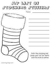 Santa List Coloring Pages Sleekadscom