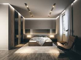 Modern Bedrooms Luxury Master Bedrooms With Exclusive Wall Details Led Light
