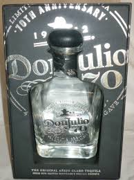 collectible don julio 70th anniversary tequila bottle empty original gift box