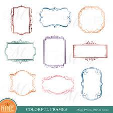 colorful frame border design. Simple Frame Zoom And Colorful Frame Border Design I