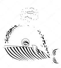 Walvis Kleurplaat Stockfoto Illustratorhft 40315413