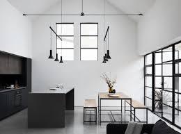 kitchen pendant lighting images. Large Steel Framed Windows And Doors Frame The Open Kitchen Dining Space. Modern Pendant Lighting Images