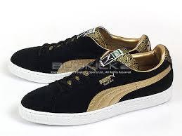 puma shoes suede black. puma suede black and gold shoes