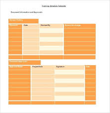 Training Agenda Template Word Plan Schedule 8 Free Sample Example ...