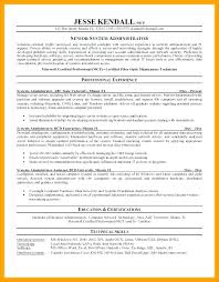 Network Administrator Resume Samples New Windows System Administrator Resume Sample Pdf Systems 48 Email