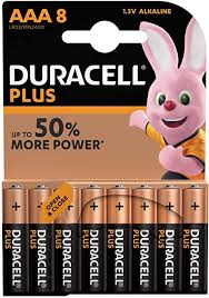 <b>Duracell AAA</b> Plus 8 Batteries For Toys, Cameras etc: Amazon.co.uk ...