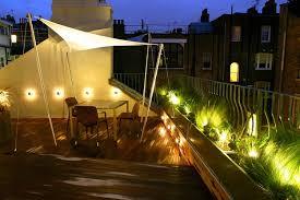 rooftop lighting. Memanfaatkan Rooftop Untuk Taman Lighting O