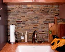Rock Backsplash Kitchen Kitchen Backsplash For Kitchen With Reuse Stone Tiles Pieces