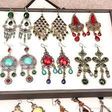 costume jewelry chandelier earrings costume jewelry chandelier earrings awesome line mixed styles vintage bohemian long