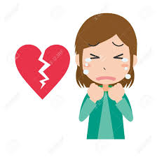 A Woman Who Cries In A Broken Heart Royalty Free Cliparts, Vectors, And  Stock Illustration. Image 146424267.