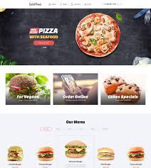 Restaurant Website Templates Classy 28 Best Food Restaurant Website Templates TemplateMonster
