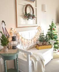 Lighted Decorated Garland Easy Lighted Christmas Garland 4 Sarah Joy Blog