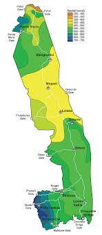 Rainfall Map Of Kruger Park Kruger Park Birding