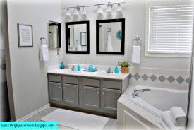 gray bathroom color ideas. Amazing Gray Bathroom Color Ideas Turquoise And Trine Master Reveal H