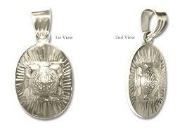 meru shree yantra pendant oval
