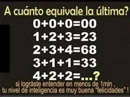 En muchas ocasiones los niños son capaces de entender números, de hacer operaciones, comparaciones, etc. Acertijo Matematico Problemas Matematicos Acertijos Matematicos Acertijos
