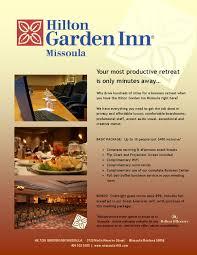 executive retreat package at hilton garden inn missoula