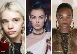 fall winter 2017 2018 jewelry trends hoop earrings