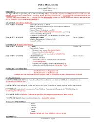 American Resume Format For Freshers Best Sample American Resume